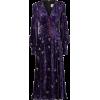 velvet dress - Dresses -