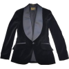 velvet tuxedo jacket - Kurtka -