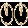versace hoops - Naušnice -