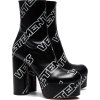 Vetements, Black, Leather,  - Stiefel -