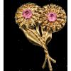 #vintage #brooch #flower #artdeco - Other jewelry - $49.50