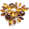 #vintage #brooch #jewelry #rhinestone - Other jewelry - $39.50  ~ 33.93€