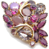 #vintage #brooch #jewelry #rhinestones - Other jewelry - $49.50  ~ 42.51€