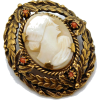 #vintage #cameo #brooch #jewelry #bride - Other jewelry - $39.50  ~ 33.93€