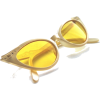 vintage cate eye sunglasses - Occhiali da sole -