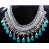 #vintage #jewelry #bib #necklace - Necklaces - $99.50