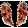 #vintage #jewelry #earrings #rhinestone - Earrings - $39.00