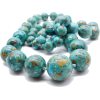 #vintage #necklace #turquoise #bead - Necklaces - $149.50