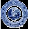 #vintage #plate #homedecor #flowblue - Uncategorized - $99.00