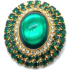 #vintage #rhinestone #brooch #jewelry - Other - $19.50