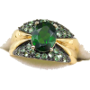 #vintage #ring #jewelry #chromediopside - Rings - $149.50