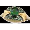 #vintage #ring #jewelry #chromediopside - Obroči - $149.50  ~ 128.40€