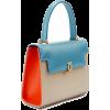viola-capri-blue-buttermilk-tangerine-ba - Hand bag -