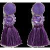violet - Earrings -