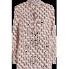 vlogo-print-blouse - 長袖シャツ・ブラウス -