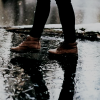 walking in the rain - Nature -