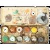 watercolour paint - Items -