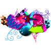 Colorful 3D Art - Illustrations -
