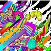Colorful 3D Grafitti - Illustrations -