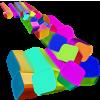 Flying Blocks - Illustrations -