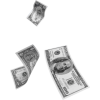 Flying Money - Illustrations -