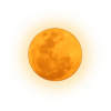 Full Orange Moon - Ilustracje -