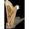 Gilded Gold Harp - Illustrazioni -