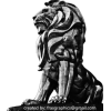 Lion Statue - Illustraciones -