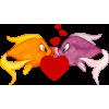 Love fish - Illustrazioni -