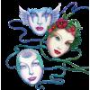 Masks - Ilustrationen -