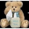 Miss You Teddy Bear - Ilustracje -