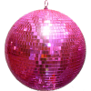 Pink Disco Ball - Ilustracje -