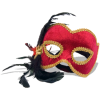 Red and Gold Mask - Ilustrationen -