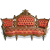 Regal Victorian Couch - Furniture -