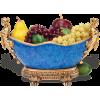 Royal Blue Basket of Fruit - Voće -