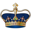Royal Blue Crown - Illustrations -