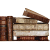 Stack of Old Books - Items -