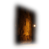 Street wall and lamp - Buildings -