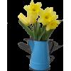 Sunny Yellow Daffodils - Illustrations -