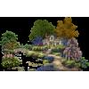 house near river - Zgradbe -