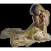 woman kneeling - People -