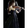 woman on violine - People -