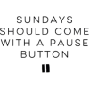 weekend, sunday - Texts -