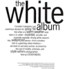 white album - 插图用文字 -