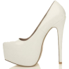 White Shoes*** Pumps & Classic shoes - Klasične cipele -