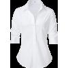 white Shirt - Long sleeves shirts -