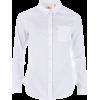 white Shirt - Camisas manga larga -