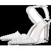 white cage stiletto - Sandals -