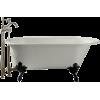 white kohler clawfoot bathtub - Möbel -