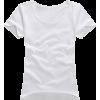 white t - T恤 -